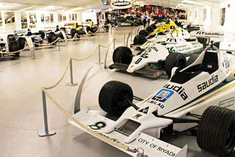The East Midlands Skyway Hotel - Overnight Stay for Two  with Donington Grand Prix Collection Tickets   - Save 0%