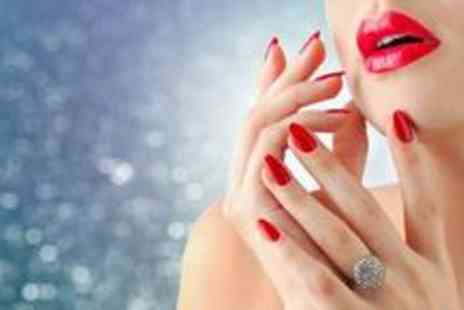 St James Hair and Beauty - Stunning gelish manicure and pedicure - Save 76%