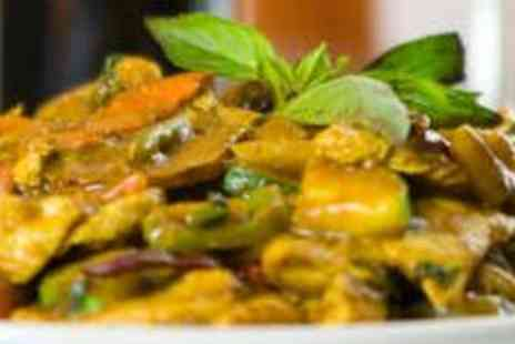 Masala Twist - Takeaway Curry, Rice and a Bottle of Wine for Two - Save 56%