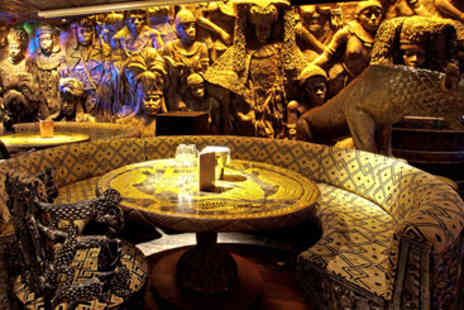 Shaka Zulu - Shaka Zulu Three Course Meal with a Cocktail for Two - Save 50%