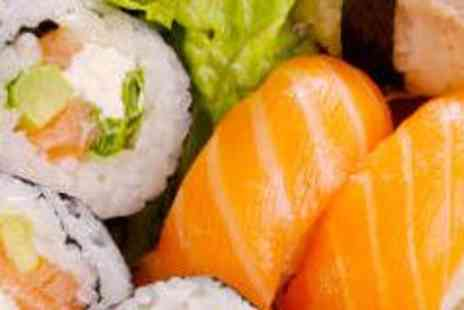 Cool Sushi - 27 Piece Special Sushi Platter with Wine - Save 58%