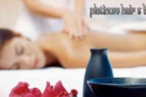Platinum Hair and Beauty - Full Body Massage With Facial and Head Massage - Save 71%