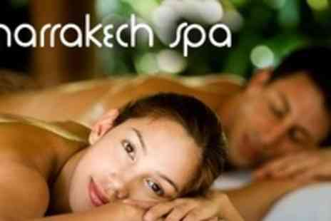 The Marrakech Spa - Spa Day For Two With 45 Minute Full Body Massage - Save 62%
