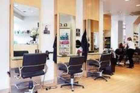 Michael Barnes Hairdressing  - Half Head Highlights, MoroccanOil Treatment, Wash, Cut & Blow Dry  - Save 53%