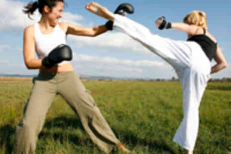 The London Wing Chun Academy - Four Week Training Package  Ladies Kickboxing and Fitness Training - Save 58%