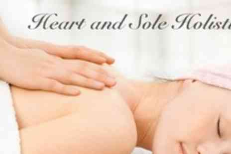Heart and Sole Holistics - Dermalogica Facial and Massage Plus Hand and Foot Scrub For One - Save 69%