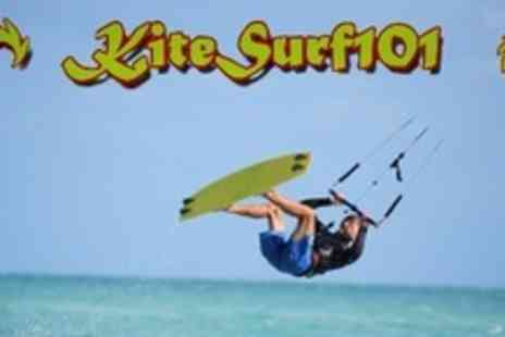 Kitesurf 101 - Five Hour Kite Surfing Course For Two - Save 57%