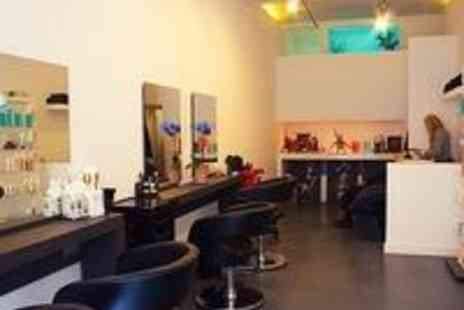No 42 Hair Salon - Half Head of Highlights, Cut and Blow Dry - Save 55%