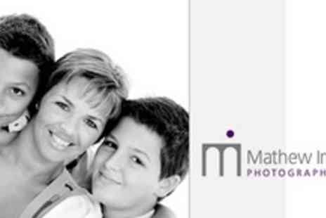 Mathew Imison Photography - Family Studio Photo Shoot Plus USB Key with Favourite Image - Save 77%