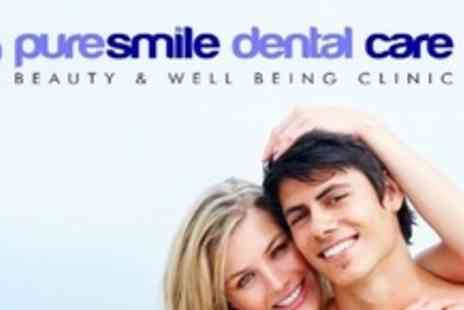 Puresmile Dental Care - Two 60 Minute Laser Teeth Whitening Sessions With Consultation - Save 90%