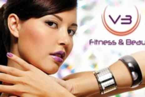 V3 Fitness & Beauty - Choice of Two Beauty Treatments Such As Facial, Manicure or Massage - Save 70%