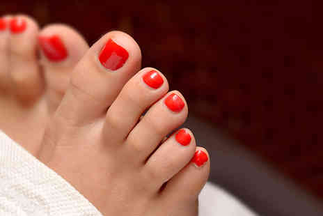 DermaSkins - Deluxe Pedicure - Save 74%