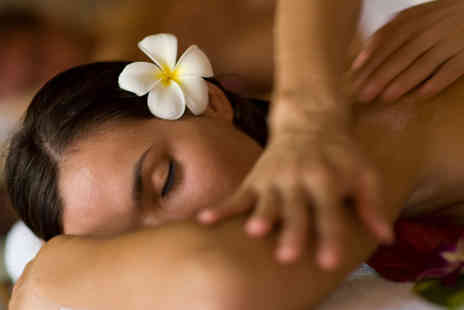 Dorthe Thomas Spa - Treatment tailored to you! Choice of Back, Neck & Shoulder Massage PLUS Foot Spa Ritual or Facial - Save 60%