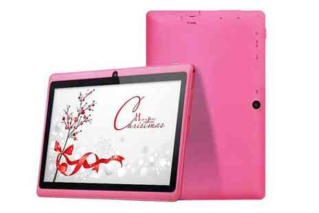 "Oasis Business Services Int - 7"" Android KitKat 4GB Tablet with Camera - Save 78%"