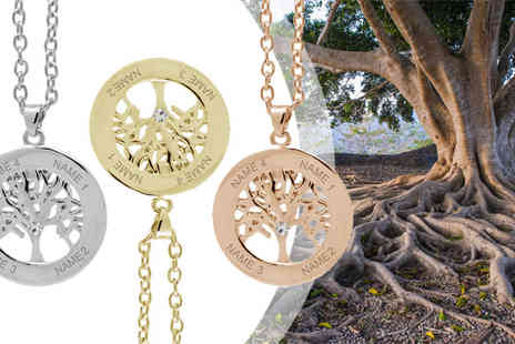 Jewelian - Personalised Tree of Life Necklace - Save 0%