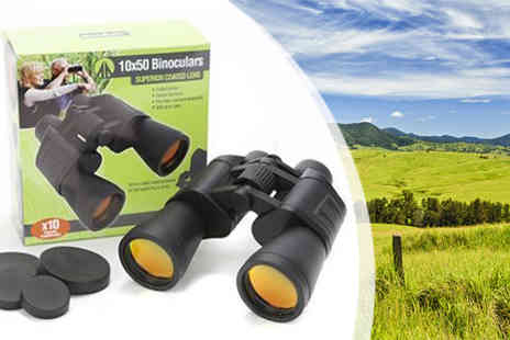 Plus Bee - Summit 10x50 Binoculars - Save 0%