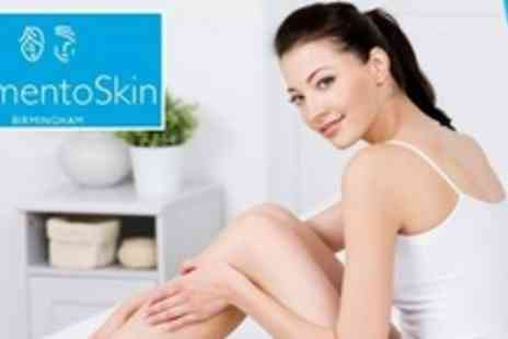 Memento Skin Clinic - Six Sessions of IPL Hair Removal on One Medium and Two Small Areas - Save 88%