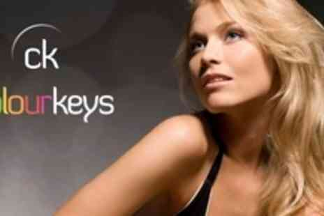 Colour Keys - Full Head Foils or Colour With Deep Conditioning Treatment, Cut, Head Massage - Save 61%