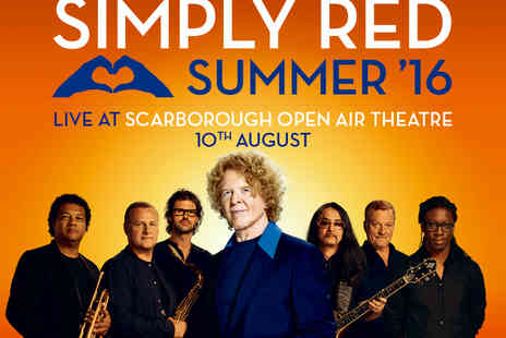 Cuffe & Taylor Touring - Tickets  to Simply Red  show - Save 0%