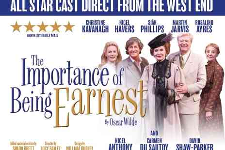 Wyvern Theatre - Tickets to Importance of Being Earnest  - Save 42%