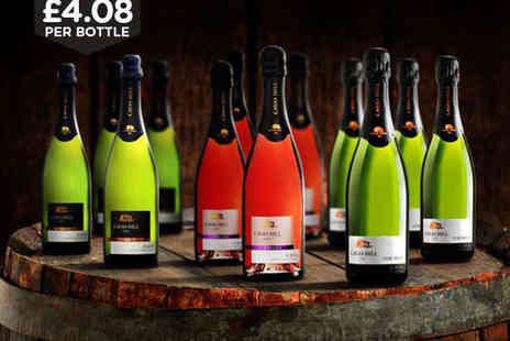 Celebrate in Style with Selection of Cava - 12 Bottle Case of Cava - Save 61%