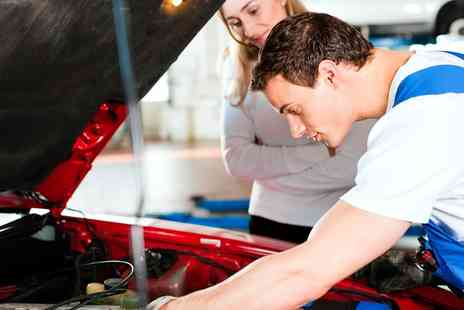 Chapmans Auto Centres - Service With Oil and Filter Change and Brake Check Plus MOT - Save 81%