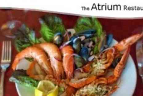 The Atrium - Seafood Platter With Wine For Four - Save 58%