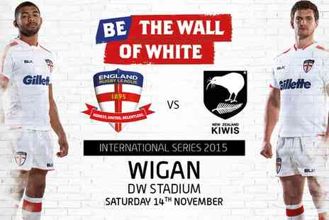 The Rugby Football League -  Ticket to England v New Zealand - Save 0%