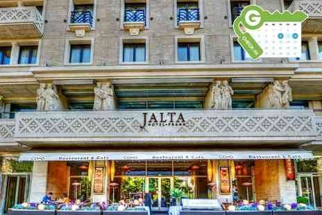 Jalta Boutique Hotel - One night Stay For two With Breakfast, Welcome Drink, Coffee and Cake  - Save 0%
