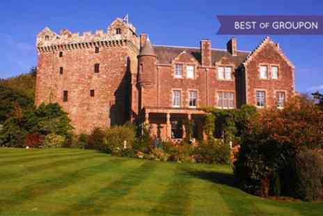 Comlongon Castle - One Night stay For Two With Breakfast, Prosecco and Chocolates  - Save 0%