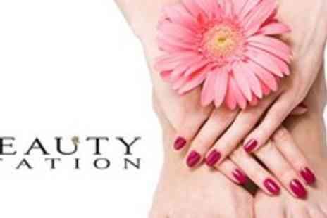 The Beauty Station - Luxury Jessica manicure and pedicure - Save 57%