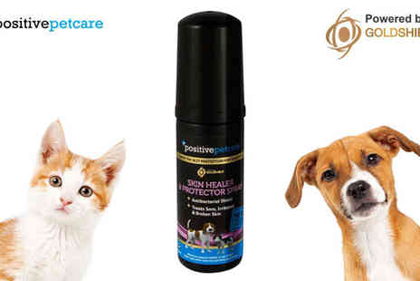 Goldshield Technologis - Positive Petcare Skin Allergy Healer & Problem Protector - Save 50%