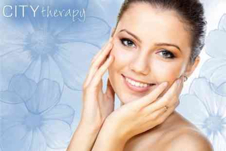 City Therapy - Choice of Facial Treatments Plus Manicure or Pedicure and Massage for £35 - Save 72%
