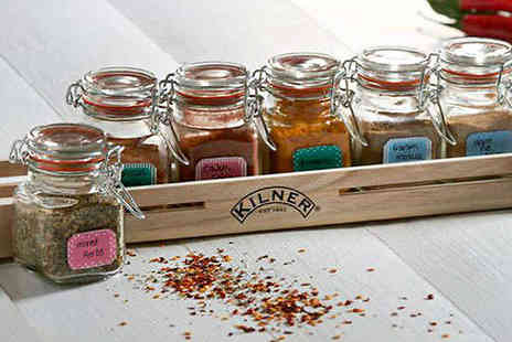 Hungry Bazaar - Kilner 20 Piece Spice Jar Gift Set - Save 48%