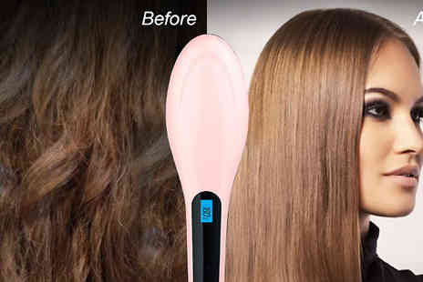 Georgi Girl - Electric Hair Straightening Brush with 5 Settings - Save 50%