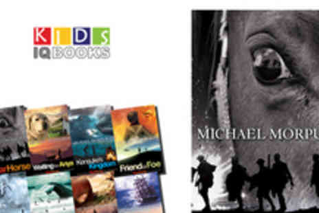 Kids IQ Books - Set of 8 paperback books by Michael Morpurgo including - Save 56%
