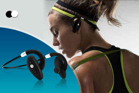 Hedoo -  Bluetooth water resistant stereo headset   - Save 60%