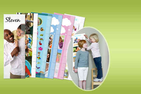 Smiley Hippo - Personalised kids growth chart  - Save 80%