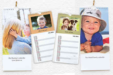 Harrier LLC - Personalised photo wall calendar  - Save 58%
