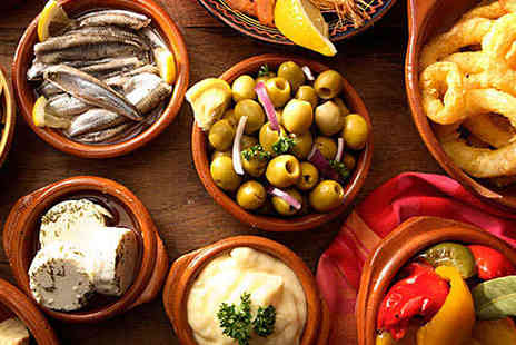 Beachview Restaurant - 10 Tapas to Share with Glass of Sangria Each for Two  - Save 71%