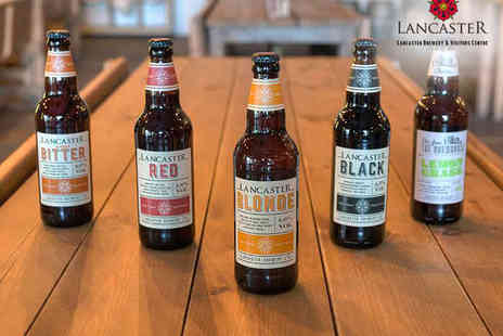 Lancaster Brewery - Lancaster Brewery Blonde Tour with Handmade Pork Pie and up to Three Pints of Ale Each for Two - Save 57%