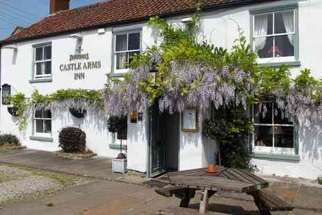 The Castle Arms Inn - One or two Nights For Two With Breakfast and Glass of Wine - Save 0%