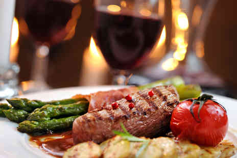 Salvatores Ristorante - Delicious Sirloin Steak Meal for Two or Four with Drinks - Save 52%