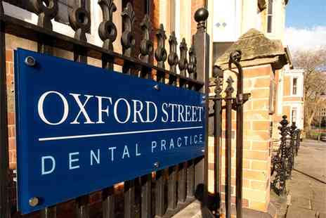 Oxford St Dental - Full dental examination, up to two X rays and a scale and polish - Save 0%