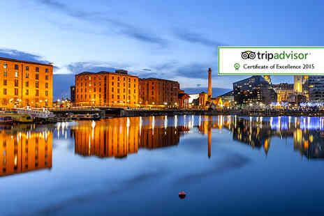 Days Inn Liverpool - One Night  Liverpool break for two including breakfast, a bottle of wine and late check-out - Save 46%