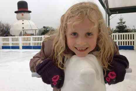 Whilton Locks Garden village - Ice Skating With Snack and Hot Drink For One - Save 27%