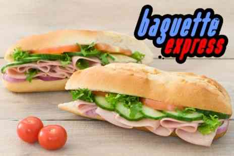 Baguette Express - Baguettes For Two for £2.50  - Save 60%