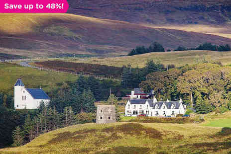 Uig Hotel - Overnight Stay in the Scottish Highlands - Save 48%