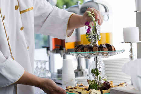 Tea on the Wall - Afternoon Tea with Prosecco for Two - Save 38%