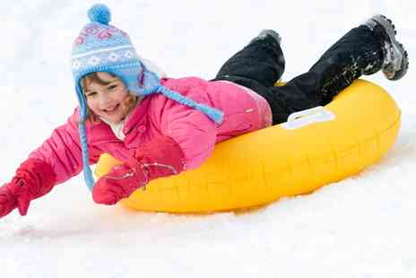 Swadlincote Ski Centre - Sno Tubing and Tobogganing for Two  - Save 55%
